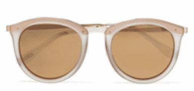 Le Specs No Smirking Mirrored Sunglasses
