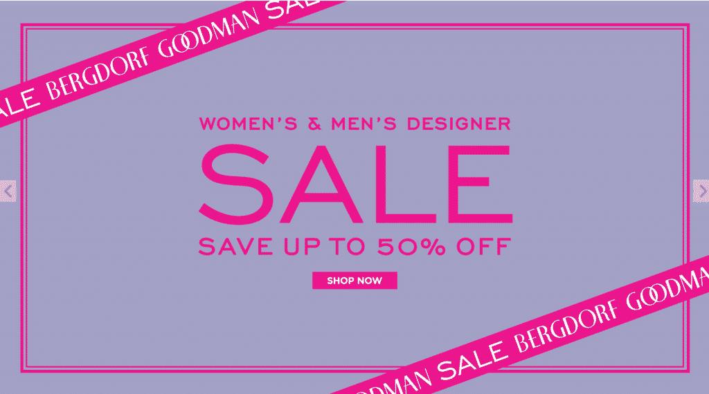 Bergdorf goodman's sale