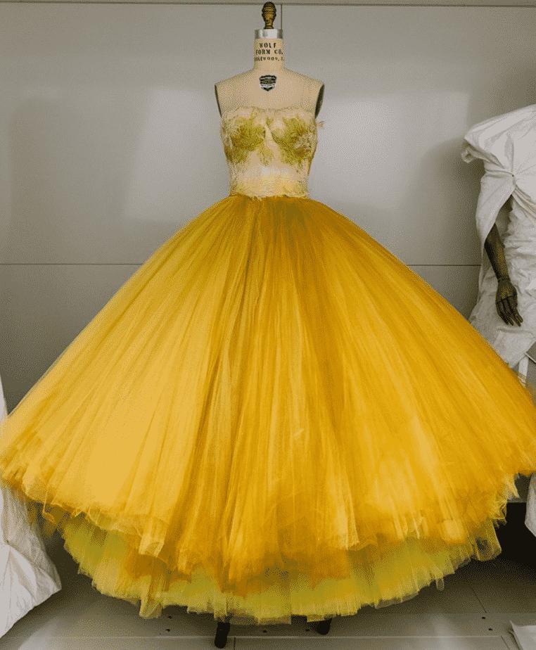 Vogue Writing Fashion History at Met, New York City