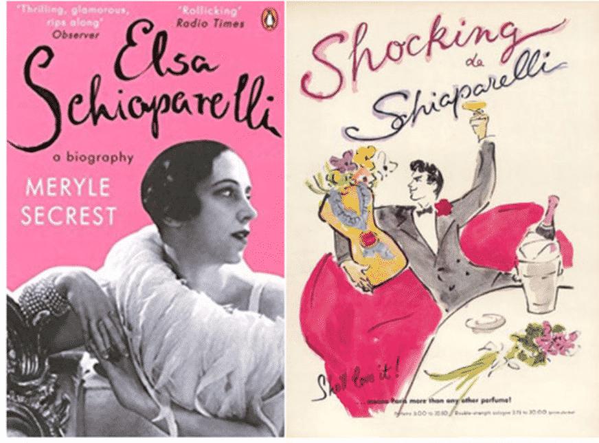 Elsa Schioparelli a biography by Meryle Secrest. Shocking de Schioparelli