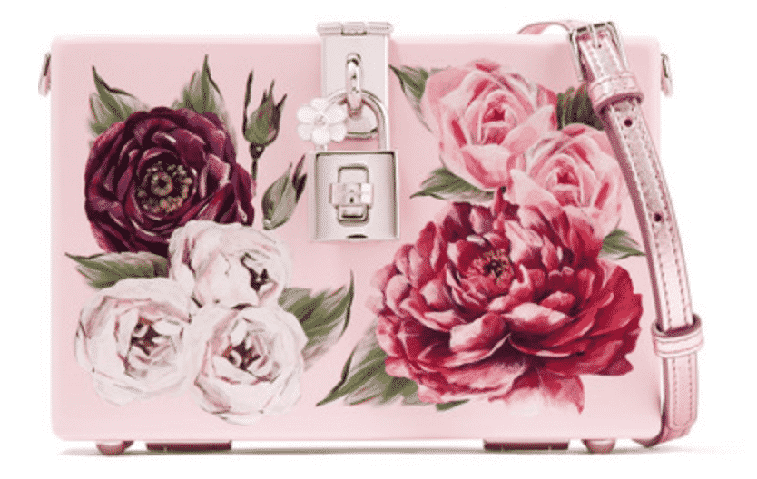 Dolce & Gabbana Dolce Box Floral-Print Acrylic Shoulder