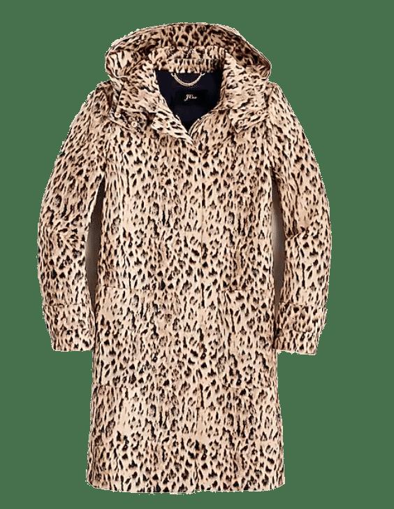 J. Crew Leopard Print Coat