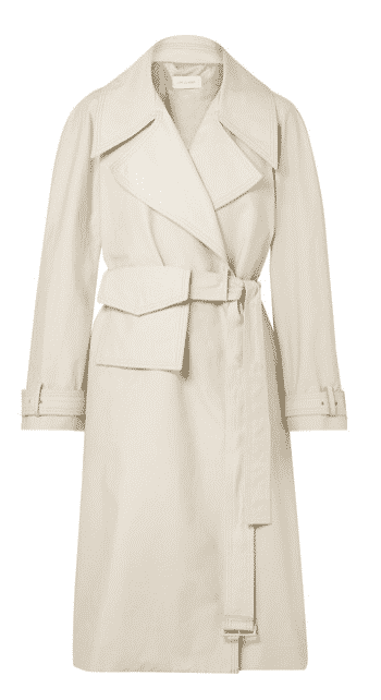 Low Classic Cotton Blend Trench Coat