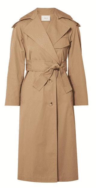 The ClassicSans Epaulettes Rain Coat