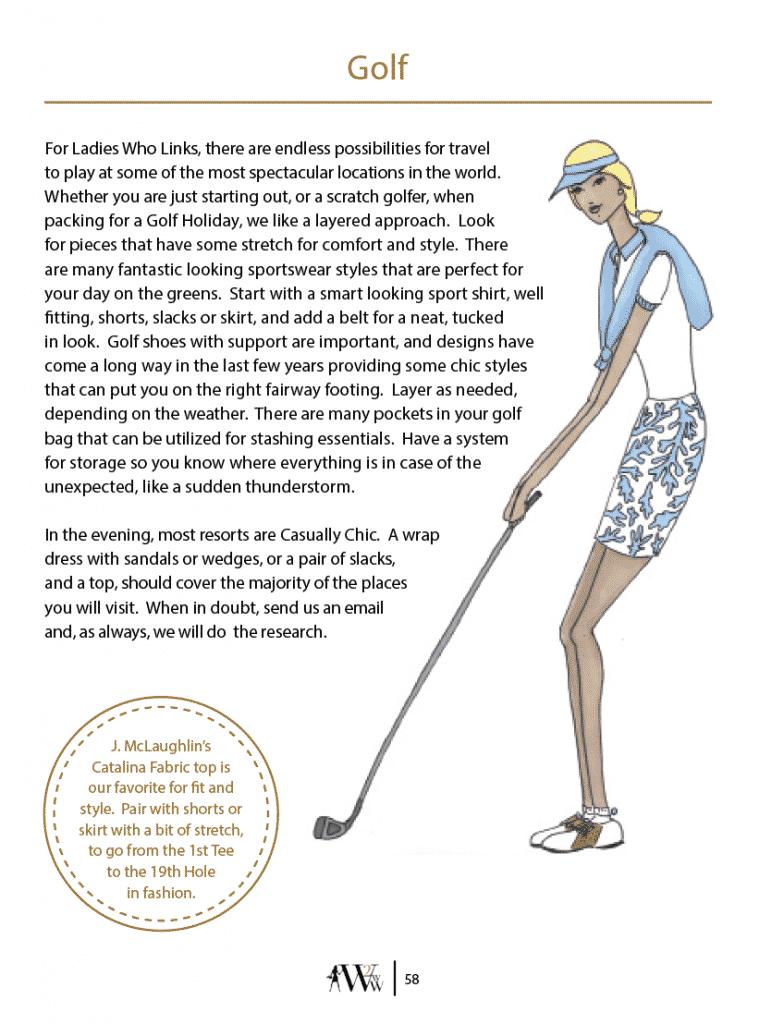 Golf, Golf Holiday, Golf Shoes, J. McLaughlin Catalina Top, Golf Style