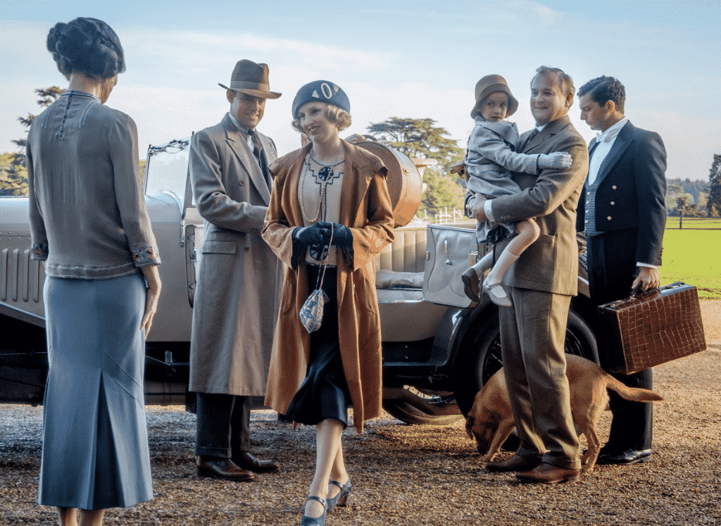In the thousands of emails we receive weekly, there are always some articles that stand out or tickle our fancy and deserve passing on.  Downton Abbey the Movie.