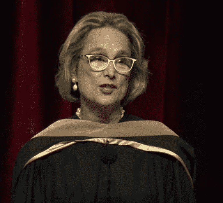 Michelle Witteman Taylor addresses University of Southern California.