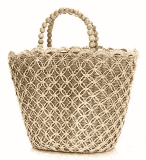 Kayu Pappy Straw Basket Tote  $245