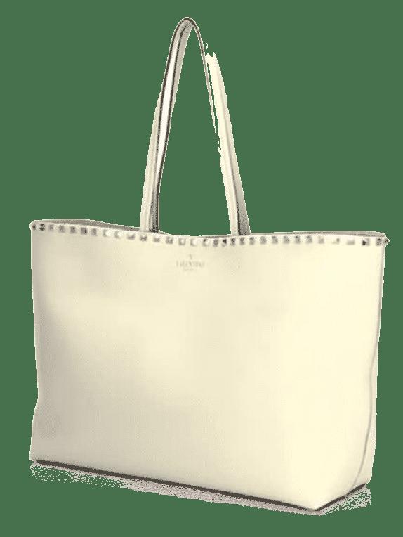 Valentino Garavani  Rockstud Grained Leather Tote  $1350