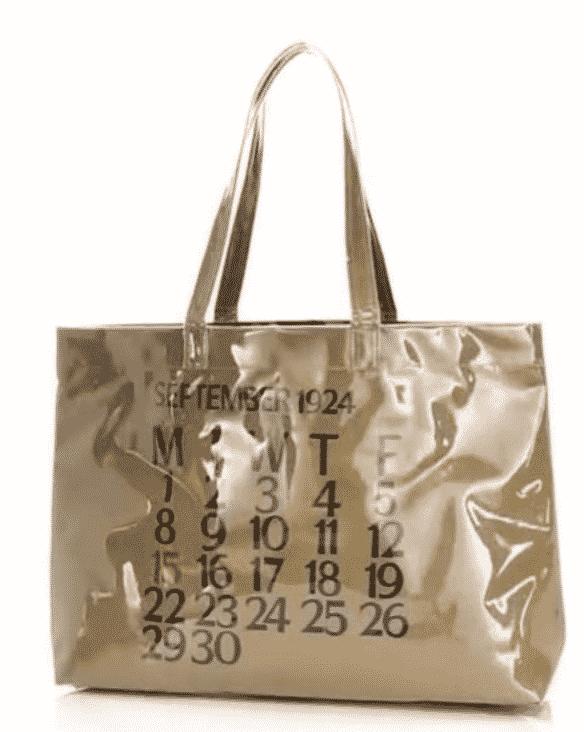 Calendar PVC Shopper  $75