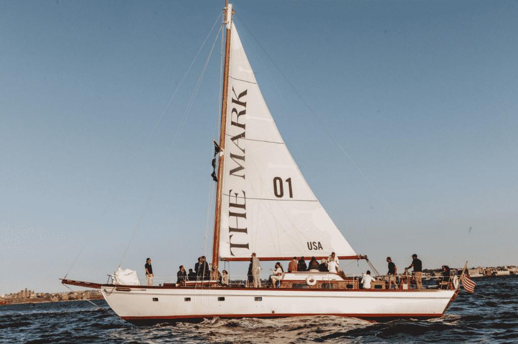 Quest Magazine, The Mark Sets Sail.