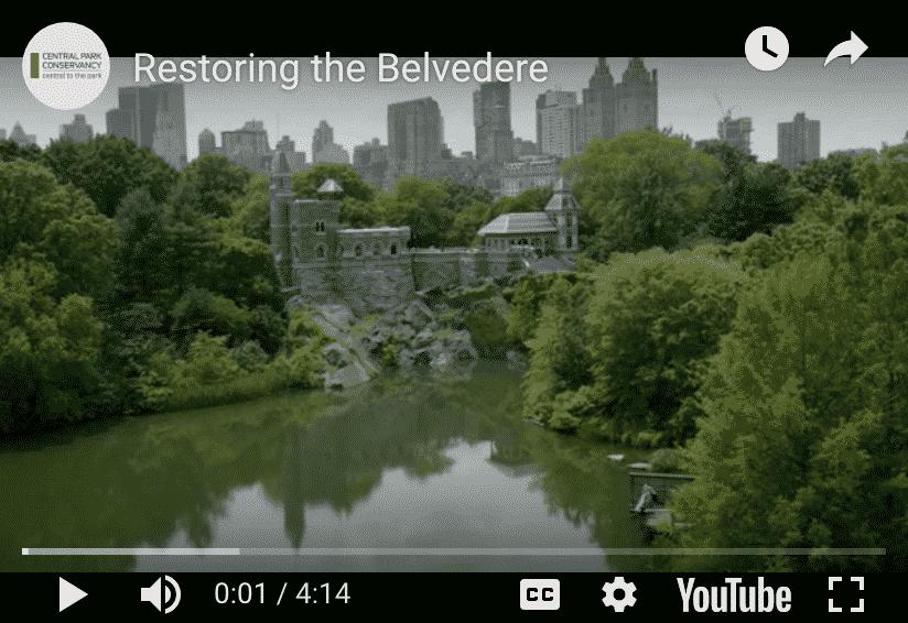 Central Park Conservancy, Belvedere castle reopen.