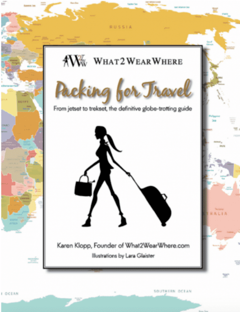 Packing for Travel by Karen Klopp, a book to help you get on your way.
