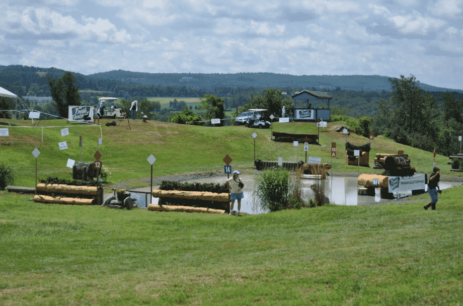 Millbrook Horse Trials, view of the Cross Country Course