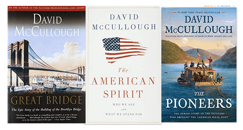 David McCullough books as gift in How to be a Good House Guest.