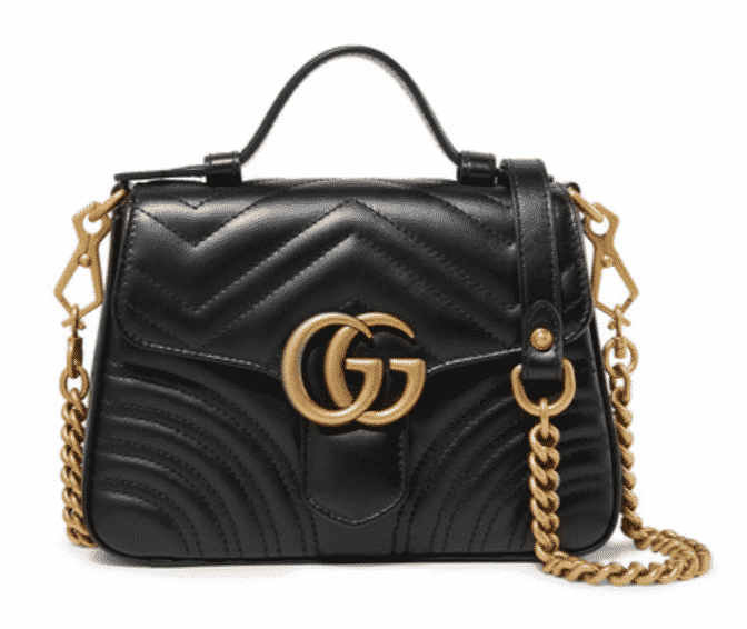 Gucci Mini Marmont Bag.  Karen Klopp picks her favorite Mini Bags, a Fall Trend 2019