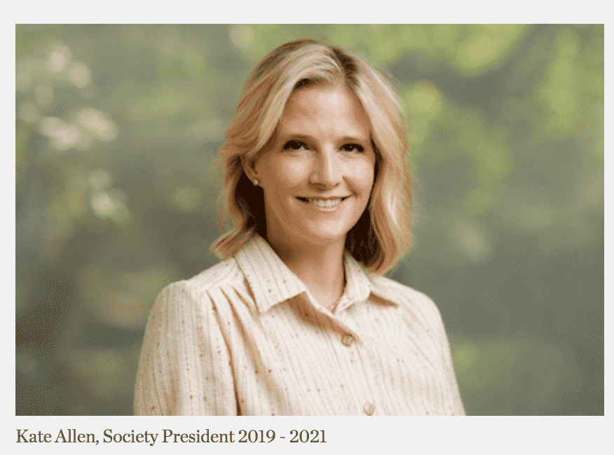 Society of Memorial Sloan Kettering Cancer Center announces new president Kate Allen.