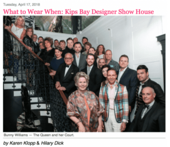 Bunny Williams, One of the gifts of spring to lovers of design and decor par excellence, is the Kips Bay Designer Show House.