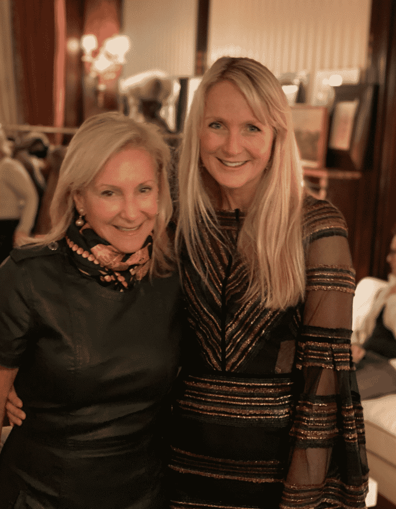 Karen Klopp, Rosie van Cutsem at Troy London party at Darren Henaults.