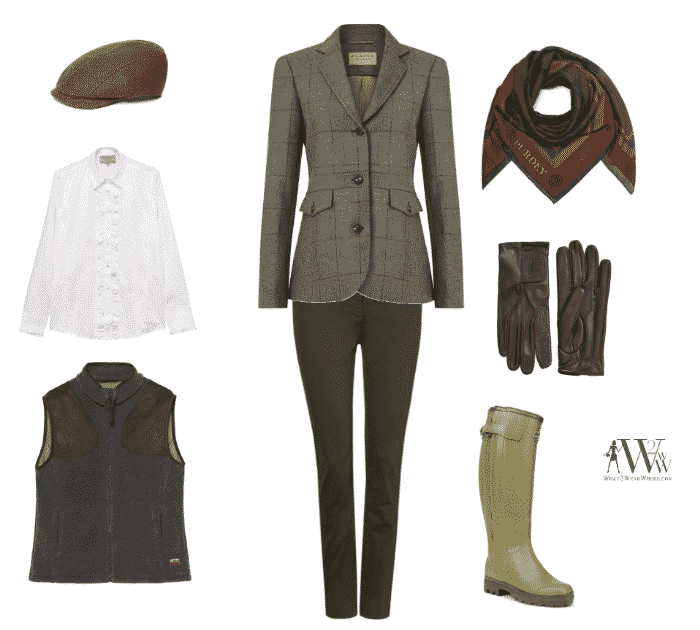 Karen Klopp, Hilary Dick, article for New York Social Diary.  What to wear to a shooting holiday in Great Britain.