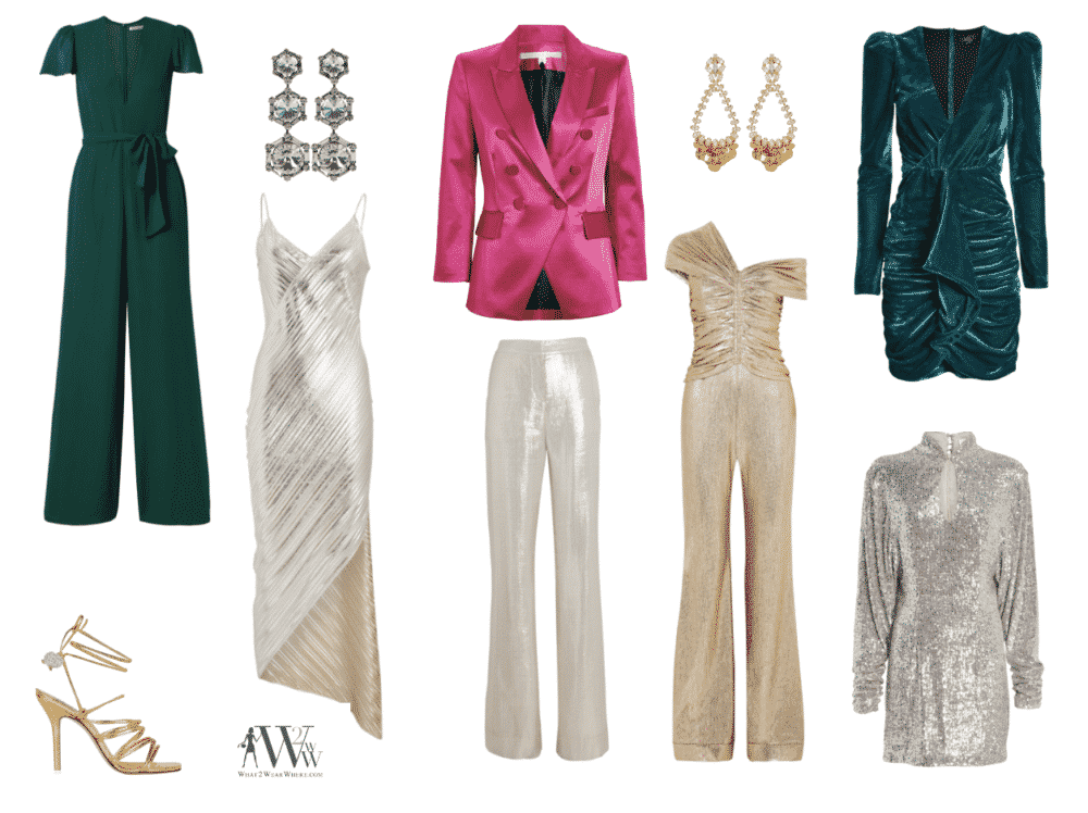 Hilary Dick of What2WearWhere picks her favorite sparkly style for the holiday season.